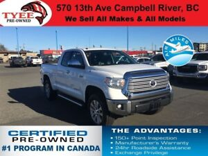 2014 Toyota Tundra Limited 4x4 Navigation Leather Heated Seats