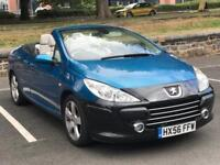 2006 PEUGEOT 307CC SPORT 2.0 2DR *11 MONTH MOT* *CONVERTIBLE*LOW MILES* *PART EX WELCOME* *DELIVERY*