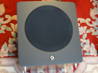 Q-Acoustics 1000S Great British Powered Active Subwoofer-Superb Sound