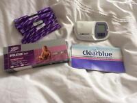 Clear blue fertility monitor