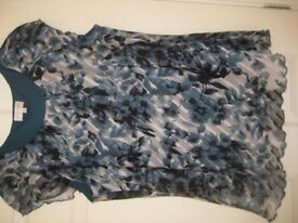 LINED TOP - KLASS, ANNA ROSE - SIZE 18 - (Kirkby in Ashfield)