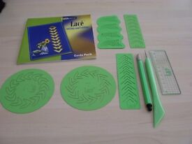 Lacé craft tools, templates and books