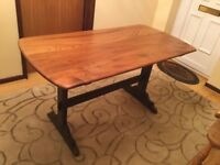 Vintage Ercol refectory table