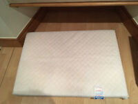 Baby Fully Breathable Quilted Travel Cot Mattress (100 x 70 x 10 cm)