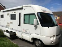 rapido 962 mercedes 4 berth motorhome like new
