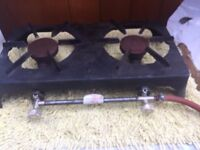 Heavy Duty 2 Gas Burner