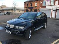 BMW X5 3.0D SPORT DIESEL AUTO BLACK FULL MOT SERVICE HISTORY ***REAL BARGAIN***