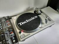 TECHNICS 1200 MK2 EXCELLENT CONDITION + DJX900