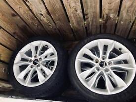 "Audi 17"" - 4no. alloys wheels. New tyres."