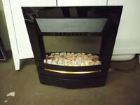 PEBBLE FLAME EFFECT ELECTRIC FIRE