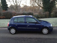 RENAULT CLIO 1.1 CHEAP TAX & INSURANCE -RELIABLE CAR- MOT & DRIVES VERY WELL -WE CAN DELIVER TO YOU