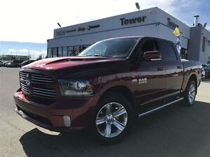 2015 Ram 1500 Sport- HEATED & VENTILATED SEATS, HEATED WHEEL