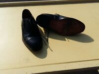 Pair of size 7 men's Black Loake shoes