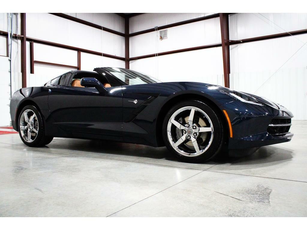2014 Blue Chevrolet Corvette Stingray 2LT   C7 Corvette Photo 7