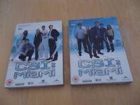 Complete Series 1 CSI Miami on 6 DVD's