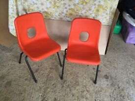 Robin day nursery chairs child size reception age