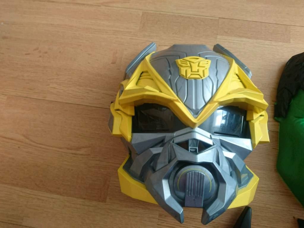 Boys bumblebee mask