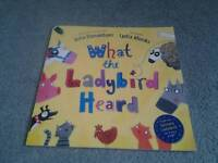 What the ladybird heard by Julia Donaldson and Lydia Monks