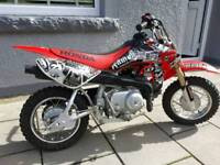 Honda crf50 (genuine) semi-automatic