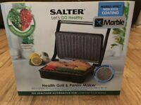 Salter health grill and panini maker