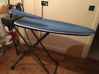 Posh ironing board with integrated iron and water storage (REDUCED)