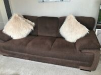 2 & 3 Seater sofas like new