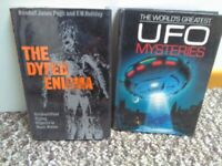 UFO books The Dyfed Enigma and The World's Greatest UFO Mysteries