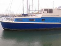 I still need a new owner....... suitable for inland waterways or coast .