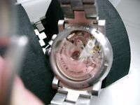 Alfex automatic chronograph wristwatch - Embellished Valjoux 7750- NOS - 90's