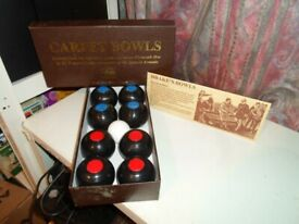 Nauticalia Indoor Carpet bowls New boxed can post out