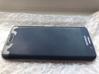 Samsung Galaxy S6 Edge 64GB Black Factory Unlocked in average condition see details