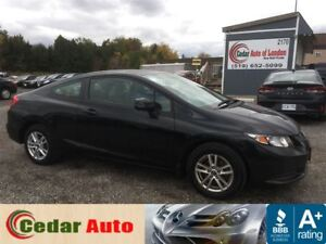 2013 Honda Civic Coupe LX - One Owner