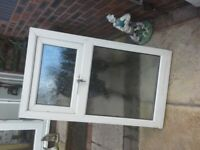 Upvc window frosted glass