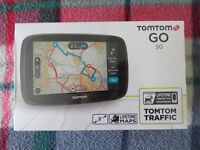 TomTom GO 50 5-inch Sat Nav with Western European Maps and Lifetime Map
