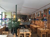 Huge Coffee place over situated in busy Stoke Newington N16.