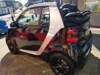 Smart fortwo cabriolet grandstyle convertable satnav