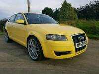 SEPT 2006 AUDI A3 2.0 TDI SE 140 BHP..MOTED TO MAY 2018..POSSIBLE PART EXCHANGE
