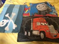 George pig pirate Thomas the tank engine and cars duvet sets