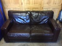 3 Pieces Leather Sofas for FREE