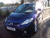 Mazda5 2.0 D Furano 5dr 12 MONTHS WARRANTY FREE 2006 (56 reg), MPV 7 Seater 7 seater 7 seater
