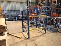 PLANNED STORAGE HEAVY DUTY WAREHOUSE PALLET RACKING WORK BENCH TOOL STATION