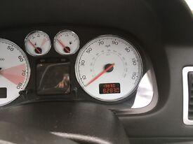 Peugeot 307cc 2.0l petrol auto