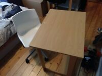 Ikea desk and chair set