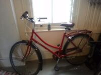 Beautiful red dutch style Bobbin Birdie bike £130