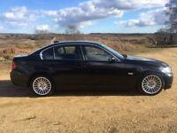 2006 BMW 330D SE AUTO iDrive EDITION, 90K MILES, BLACK METALLIC, FULL LEATHER, SATNAV, CRUISE, 46MPG
