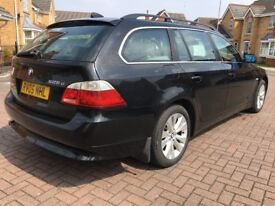 2005 BMW 530 D 2.5 SE TOURING MANUAL BLACK NEW M.O.T LEATHER