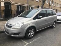 Pco hire vehicle vauxhall Zafira weekly £80 or rent to buy Uber XL registered
