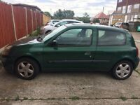 Lovely Renault Clio for sale Good condition low mileage very reliable offers around £600