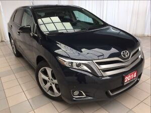 2014 Toyota Venza Limited V6 *Navigation and Leather*