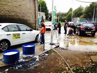 Busy Hand Car Wash Valeting Business For Sale - BP Petrol Station - Main Road - FREE Chemicals